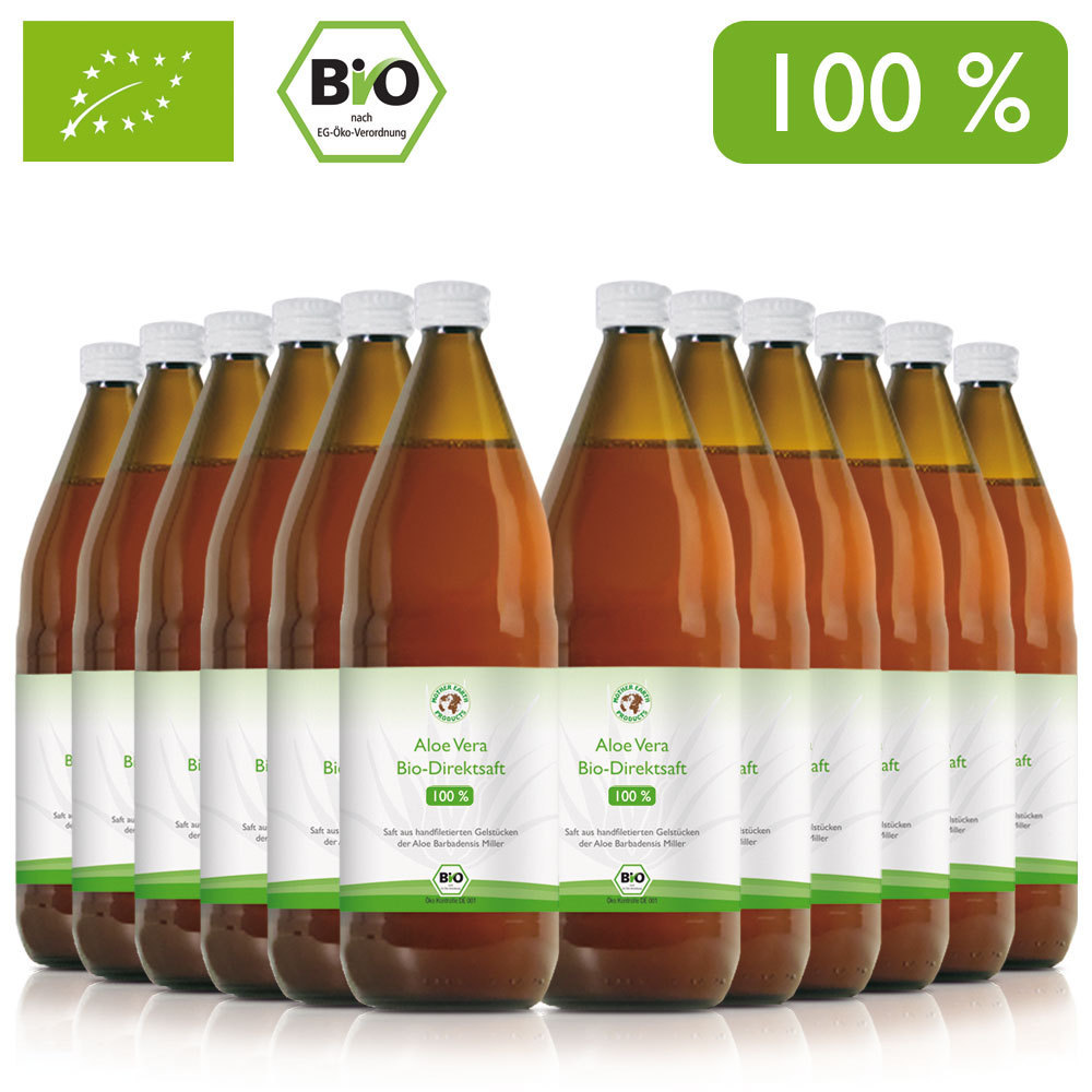 aloe vera bio direktsaft 100 12x1000 ml mother earth products. Black Bedroom Furniture Sets. Home Design Ideas